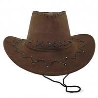 Шляпа Ковбоя Детская (коричневая)