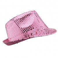 Шляпа Твист (розовая)