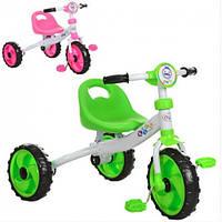 Детский трехколесный велосипед M 3254P (Розовый)