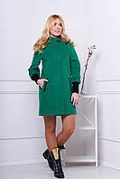 Пальто 519 (зеленый)