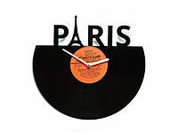 Виниловые часы Paris