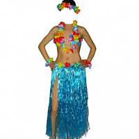 Карнавальный костюм Гавайский с длинной юбкой