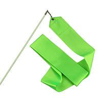 Лента гимнастическая. Цвет: зелёный.