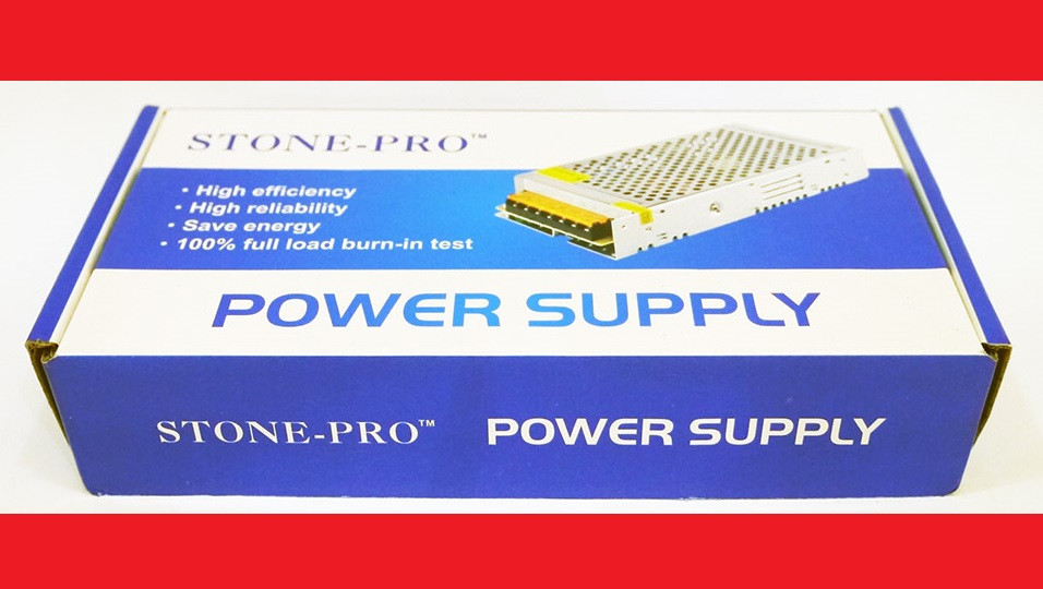 5V 30A 150W S-150-5 Імпульсний блок живлення stone-pro