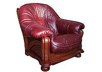 """Солидный диван """"Hammer"""" (Хаммер). (210 см) Кресло (108 см), Не раскладной, натуральная кожа"""