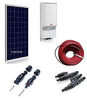 Комплект мережевої сонячної електростанції 12,5 кВт