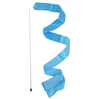 Лента гимнастическая.  Цвет: голубой.