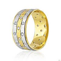 Эдем Золотое обручальное кольцо коа