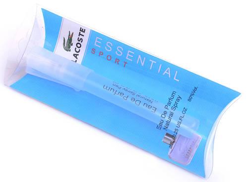 Мини-парфюм мужской Lacoste Essential Sport Pour Homme (Лакост Эссеншиал Спорт Пур Хом), 8 мл