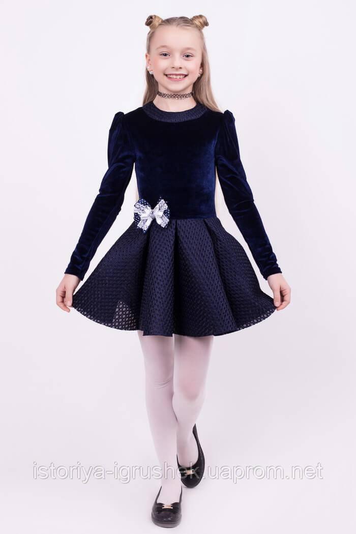 Красивое нарядное платье школьное КВ-2