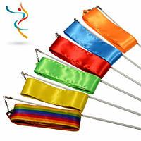 Ленты гимнастические. Разные цвета.