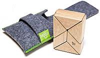 Набор из 6 магнитных блоков в чехле (натуральный) Tegu (P-11-044)