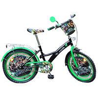"""Детский двухколесный велосипед """"Ninja Turtles"""" 20"""" Profi Trike"""