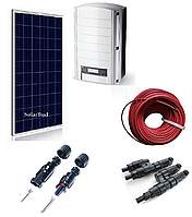 Комплект мережевої сонячної електростанції 17 кВт