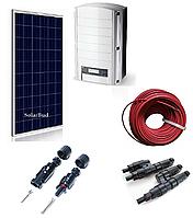 Комплект мережевої сонячної електростанції 18 кВт