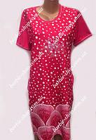 Легкое женское платье в горошек 50127