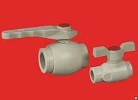 Кран шаровый полипропилен 20 ASG-Plast (Чехия)