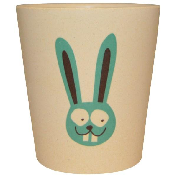 Jack n Jill, Чашка для хранения и полоскания, Заяц, 1 чашка