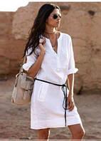 Платье сафари лен. Модели производятся от самых маденьких женских размеров до самых больших