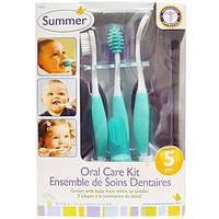 Summer Infant, Набор по уходу за полостью рта, из 5 частей