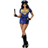 Карнавальный костюм Полицейский женский стрип