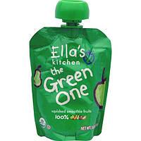 Ellas Kitchen, The Green One, фруктовое пюре, 3 унции (85 г)