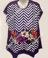 Яркая женская футболка на лето 3091