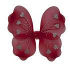 Крылья Бабочки с сердечками красные 32х36см