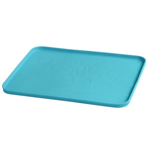 IPlay Inc., Обучающий коврик для игры, синий, 1 коврик, 14 на 10 дюймов (35,5 х 25 см)