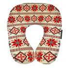 Подушка для путешествий Этно красная UKR003