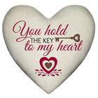 Подушка сердце 3D Шалено тебе кохаю WOL041
