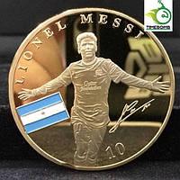 Позолоченная монета Messi