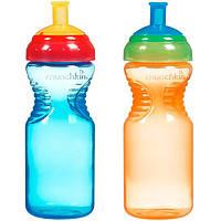 Munchkin, Cпортивные бутылки с удобным держателем, 6+ месяцев, 2 бутылки емк. по 10 унций (296 мл)