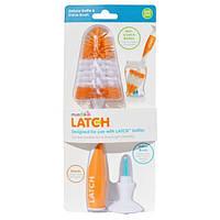 Munchkin, Latch, Щетки для мытья детских бутылочек и сосок класса люкс, 1 щетка