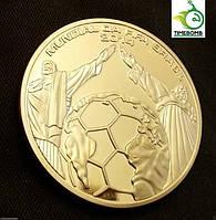 Сувенирная монета чемпионата мира в Бразилии