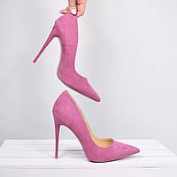 Туфли женские на шпильке Vices So Kate Лабутены фиолетовые, CHRISTIAN LOUBOUTIN
