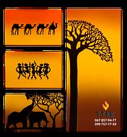 Квадриптих UDEN-S Африка