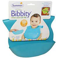 Summer Infant, Bibbity, Моющийся, сворачиваемый нагрудник, 1 детский нагрудник