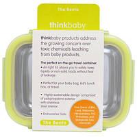 Think, Thinkbaby, ланч бокс, салатовый, 9 унций (250 мл)