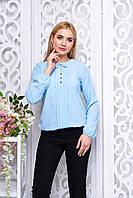 "Блуза ""Антонина"" (голубой)"