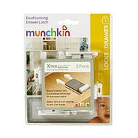 Munchkin, Safety, XtraGuard, Dual Locking Drawer Latches - 2pk