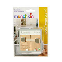Munchkin, Safety, XtraGuard, Dual Locking Multi-Use Latch - 2pk
