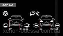 2 в 1 Противотуманные фонари для TOYOTA с ходовыми огнями FOG+DRL M703, фото 3