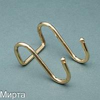 Релинг крючок двойной золото  Lemax YJ-G311 A OT (БС)