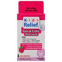 Homeolab USA, Kids Relief, вздутие и колики, вкус малины 0.85 жидких унции (25 мл)