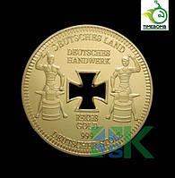 Позолоченная полая сувенирная монета Германии