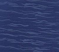 Рулонні штори тканина Лазур 2075 синій колір