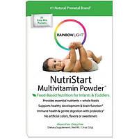 Rainbow Light, NutriStart, мультивитамины в порошке, 25 пакетиков для быстрого смешивания, 1,9 унции (53 г)