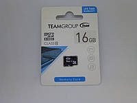 Карта памяти micro SDHC Class(10) 16Gb Team (no adapter)