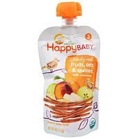 Nurture Inc. (Happy Baby), Натуральное детское питание, Обильная еда, мамины зерна, стадия 3, 4 унции (113 г)